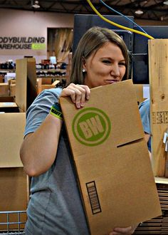 """Once named """"The Fastest Packer in the Midwest"""", Justine can pack a box faster than you can say """"That's made up!"""""""