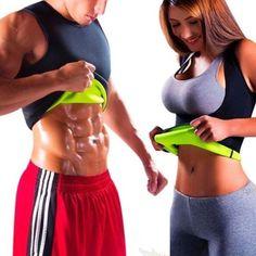 384777e0a75 Men s Waist Trainer Vest Sauna Sweat Body Shaper Tank Top Slimming Trimmer  Shirt Waist Trainer For