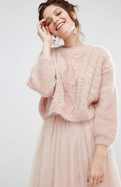 0e777b1d6 30 Luxe-Looking Sweaters That You Won t Ruin In The Washing Machine. Laine  RicoCable Knit ...