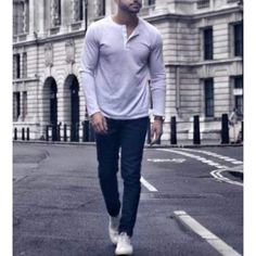 Casual T Shirts, Men Casual, Business Casual Outfits For Work, Nice Casual Outfits For Men, Mens Fall Outfits, Guy Outfits, Work Outfits, Winter Outfits, Mens Style Guide