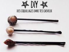 Les p'tites créa' par Caro Dels - Blog loisirs créatifs et DIY: DIY : des coquillages dans tes cheveux