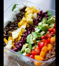 The #Vegan Cobb Salad.