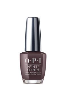 """The shorter the daylight hours, the greater the need for astrong espresso in the morning. Here, a color that evokes roasted coffee (if only it could capture the scent, too).  OPI Iceland Infinite Shine Collection Nail Polish in """"Krona,"""" $13  BUY IT:ulta.com."""