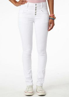 Alloy TALL Santana High Waist Skinny Jean ($20) ❤ liked on ...