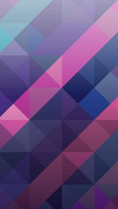 Abstract Colorful Geometric Triangles Wallpaper