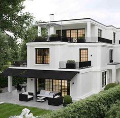 45 luxury modern house exterior design ideas – My Ideas Dream Home Design, My Dream Home, Home Interior Design, Dream Homes, Design Interiors, Life Design, Lobby Interior, Dream House Exterior, House Exterior Design