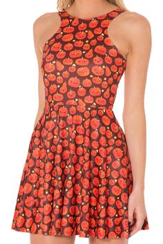 Pumpkin Patch Reversible Skater Dress - LIMITED  Size Small