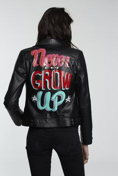 Never Grow Up | Custom Rebels