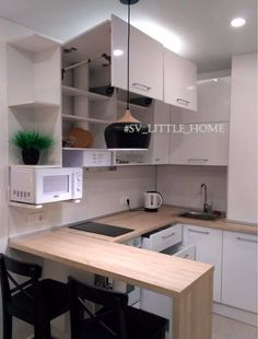 Modern Modular Homes For Affordable Comfort And Style – Home Improvements HQ Kitchen Room Design, Modern Kitchen Design, Living Room Kitchen, Home Decor Kitchen, Kitchen Interior, Condo Interior Design, Apartment Interior, Kitchen Island Target, Small Apartment Kitchen