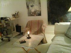 Art studio in Stockholm. Bodil Hedlund