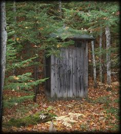 An Abandoned Outhouse  Copper Country Explorer