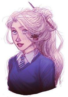 harry potter, hogwarts, and luna lovegood by Alaska | We Heart It