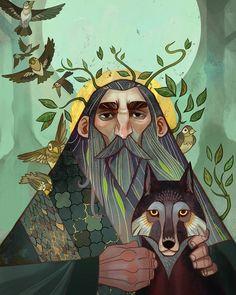 "I <3 fantasy art (@ilovefantasyart): ""Title: Stories of the Saints: Cover illustration Artist: Nick Thornborrow Follow: @nthornborrow…"""