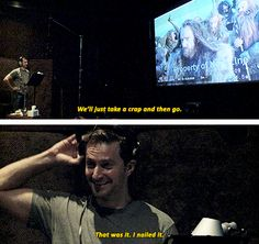 The Hobbit: An Unexpected Journey - Richard Armitage on the set, behind the scenes BTS HILARIOUS #funny (extended edition)