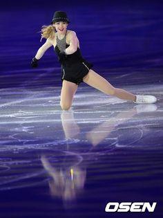 OSEN - [사진]빙판위의 미녀 그레이시 골드,'뮤지컬의 한 장면 처럼'