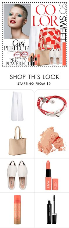 """""""Colors of life"""" by cindy88 ❤ liked on Polyvore featuring Oris, Whiteley, Joseph, Lizzy James, Old Navy, Bobbi Brown Cosmetics, Miu Miu, NYX and Marc Jacobs"""