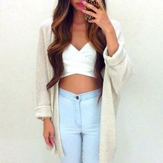 Cute casual outfit, perfect for a California Fall