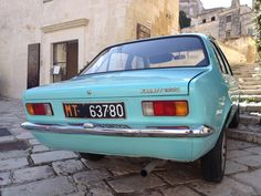 Old car in Matera