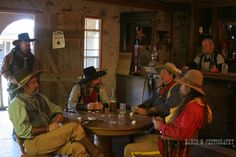old western saloon | Old Western Town Saloon bar Poker card game | Nancy Greifenhagen