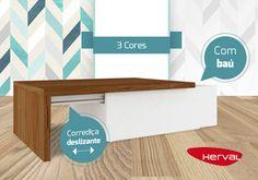 Mesa de centro com baú? É isso mesmo ! A mesa de centro Matchbox, é peça chave para quem procura um móvel prático e funcional. Além de ser super útil para aparar os objetos de decoração, vem com baú de fácil acesso e amplo espaço. Acesse nosso site  https://goo.gl/NQ9oe6 e confira ! #voulevar #herval #mesadecentro #decor