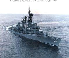 USS Coontz: Armenophile Honors  Admiral Robert E. Coontz