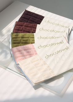 Chocotowel by Ottaipnu is actually more of a handkerchief and, as the name suggests, it's presented in the form of a chocolate bar. With its chocolate-wrapper packaging, you might think that Chocotowel is nothing more than a novelty item, but this hankie has been designed for function.