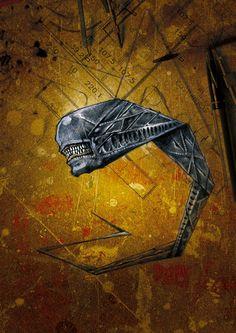 alien by sambor.deviantart.com on @DeviantArt