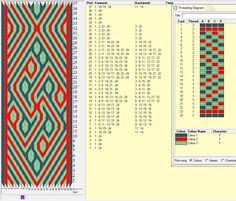 Olga Markova Design - 24 tarjetas , 3 colores, el dibujo se repite cada 32 movimientos