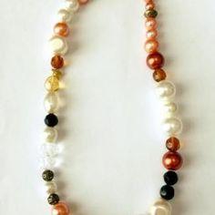 Colier 'Pumpkin' made with love by Yannia Beaded Bracelets, Pumpkin, Jewelry, Fashion, Moda, Pumpkins, Jewlery, Jewerly, Fashion Styles
