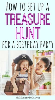 How to set up the perfect treasure hunt House & Garden treasure hunt clues for around the house and garden Pirate Treasure Hunt For Kids, Treasure Hunt Birthday, Treasure Hunt Map, Pirate Birthday, Mermaid Birthday, 5th Birthday, Treasure Island, Pirate Scavenger Hunts, Scavenger Hunt Birthday