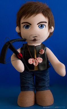 'The Walking Dead' Daryl Dixon plush