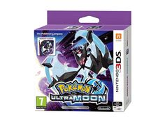 The video game Pokemon Ultra Moon for the Nintendo 3DS, Nintendo 2DS, New Nintendo 3DS and New Nintendo 2DS consoles. Return to Alola with an alternate story, catch known legendary Pokemon and discover many new additions! Edition with a collector's steelbook case for the game.