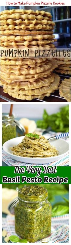 How to Make Pumpkin Pizzelle Cookies More Talipia Recipes, Pizzelle Cookies, Basil Pesto Recipes, How To Make Pumpkin, Recipe Boards, Cookie Recipes, Food To Make, Healthy Recipes, Breakfast