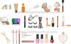 Cosmetics vocabulary