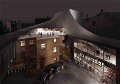 'Show Under Skin' Riga Theatre Reconstruction Competition Entry / NRJA + IG Kurbads