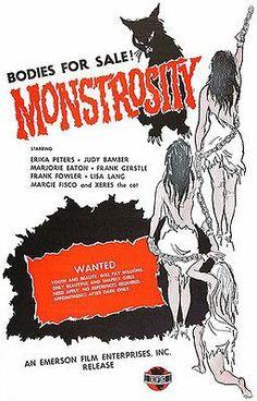 Monstrosity - 1963 - Movie Poster
