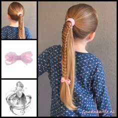 Just a fun ponytail for today with a hair elastic and cute bow from the webshop…