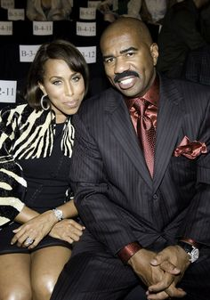 Steve and Marjorie Harvey - 40 Black Couples That We Love