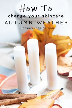 Bring on your favorite fall scents and flavors into a natural autumn skin care routine you'll love!  #autumn #naturalskincare #skincareroutine