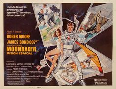 Bond pretty much became a spoof of himself in Moonraker (1979)