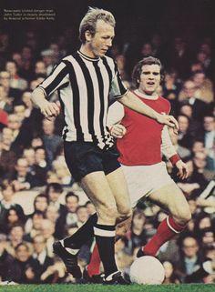 John Tudor Newcastle United 1972