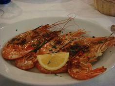Trattoria Dal Billy (Manarola)  Seafood  dinner
