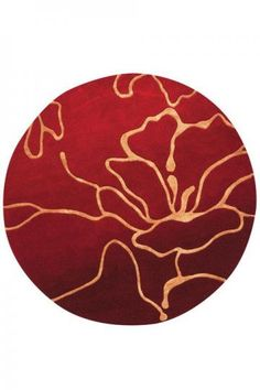 Round Area Rug Are Carefully Hand Tufted Of High Quality Wool It Adds A Contemporary Modern Artwork To Your Room