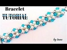 Easy pattern bracelet. Diy beaded bracelet - YouTube