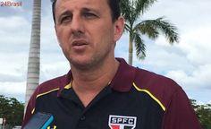 Rogério Ceni indica Maicon e Lugano como seus capitães no São Paulo