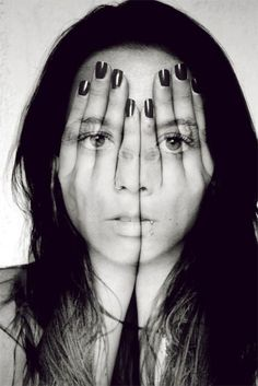 Double exposure photography. So cool!