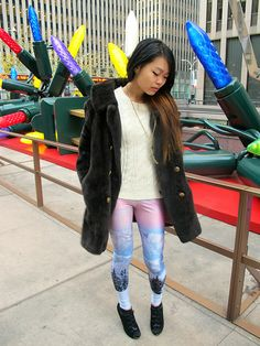 Tunnel Vision Jacket, Black Milk Clothing Leggings