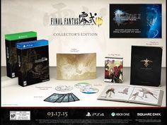 ¡Anuncian lo que trae el Collector's Edition de Final Fantasy Type-0 HD! - http://yosoyungamer.com/2014/12/anuncian-lo-que-trae-el-collectors-edition-de-final-fantasy-type-0-hd/