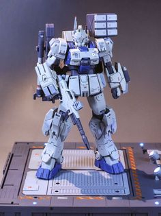 GUNDAM GUY: HGBF 1/144 EZ-8 FA Type - Customized Build