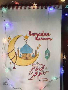 #ramadan #ramadankareem #ramadanmubarak #ramadan2020 #2020 #diy #moinliz #austria #europa #travel #moon #drawing #draw #beutiful #photos #رمضان #رمزيات #zeichnen #كلمات #كل_عام_وانتم_بخير #رسم Ramadan, Watercolor, Drawings, Birthday, Christmas, Anime, Art, To Draw, Pen And Wash
